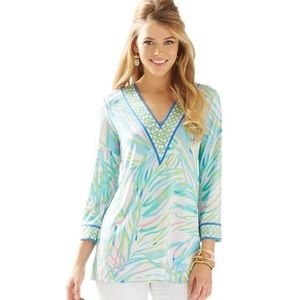 Lilly Pulitzer Port Tunic Top